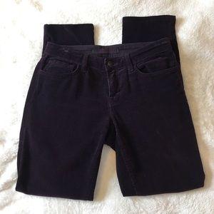 J Brand Deep Purple Corduroy Jeans - Size 26